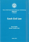 Czech Civil Law, red. K. Schelle, J. Tauchen, Kraków 2012