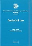 Czech Civil Law, edited by K. Schelle, J. Tauchen, Kraków 2012