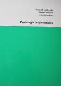 Psychologia bezpieczeństwa, W. Czajkowski, Z. Semchuk (eds), Krakow 2018